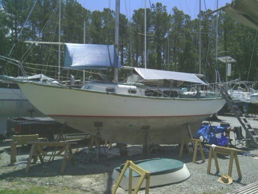 Boat Bottom Repair and Paint