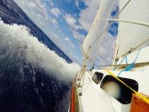 Strand of Pearls en route to Bermuda