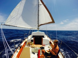 Sailing to the Azores