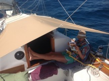 Day sailing in the Carribbean