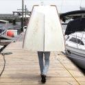 Boat walking