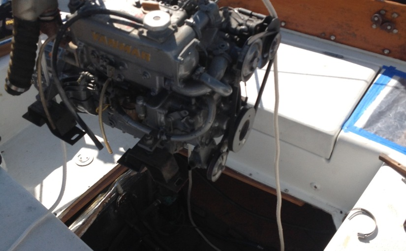 Engine Removal – New Outboard