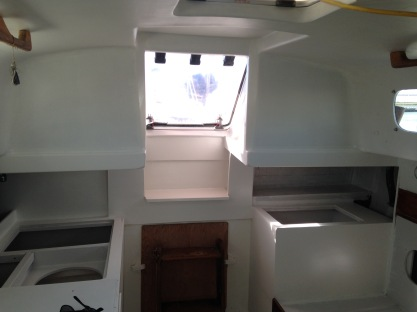 Aft cabin view
