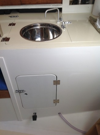 Finished sink
