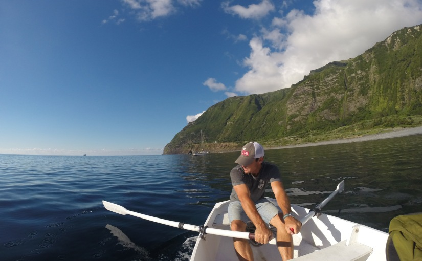 Anchoring in the Azores