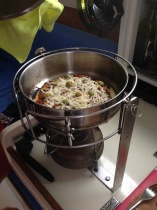 The versatile Atom Stove makes pizza