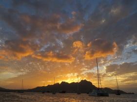 Restful sunset