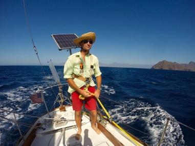Sailing around Sao Vicente