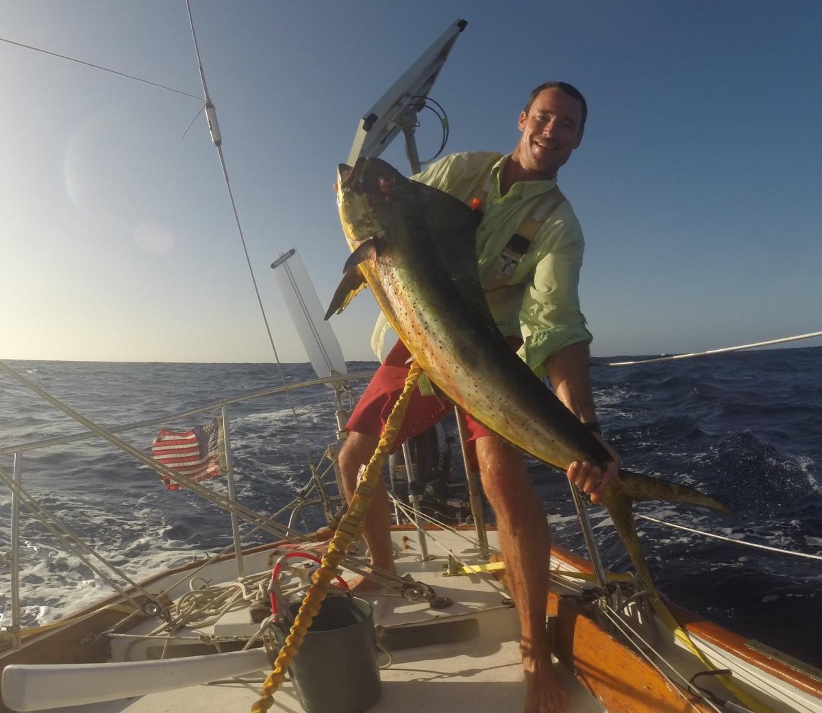 Fishing in Cape Verde – sailing dawn treader