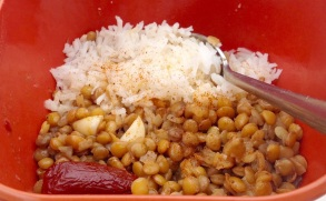 Lentils and chipotles are delicious