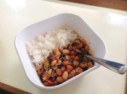 Simply beans and rice