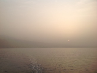 Leaving at sun up