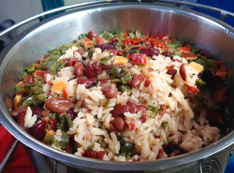 One pot meal, with Harmony House dehydrated goods