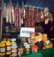 Saturday Market cheese, chorizo and other stuff